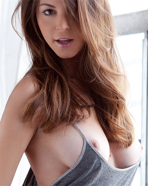 Amber Sym Slowly Undresses For You