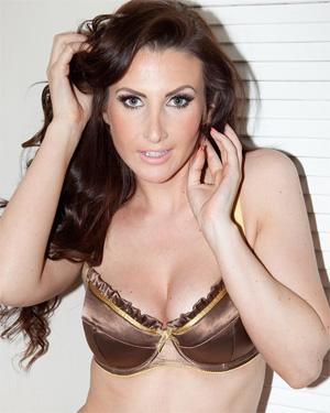 Amy Alexandra Gold Bra