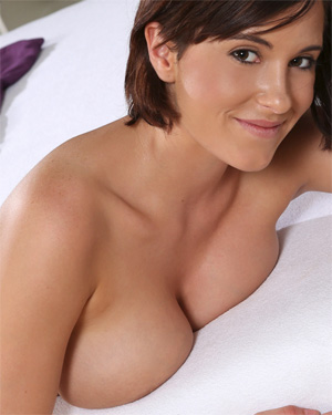 Anabella Busty In Bed