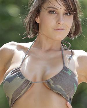 Anabelle Army Girl Bikini