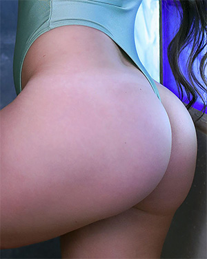 Anastasia Harris the best bodysuit booty