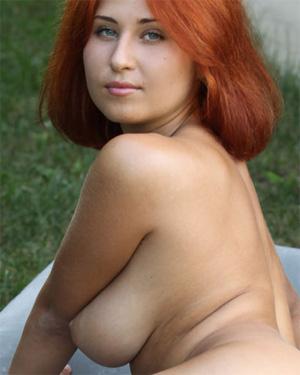 April Redhead Erotic