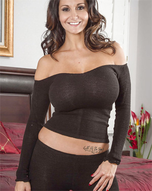 Ava Addams Tight Top and Leggings