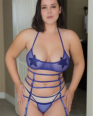 Bryci Mesh Strappy Lingerie Video