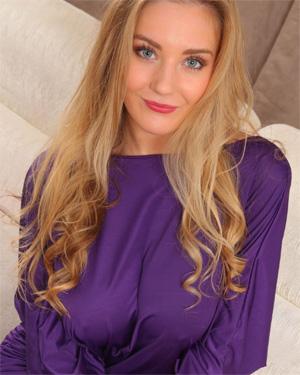 Charlie B Purple Dress Beauty