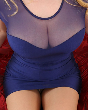 Charlie B Skin Tight Dress