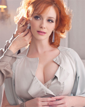 Christina Hendricks Sexy Celeb