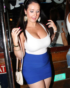 Huge Boobs In The Club