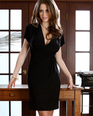 Emily Addison Black Dress