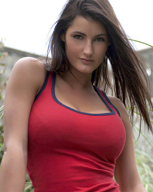 Emma Twigg Red Pinup