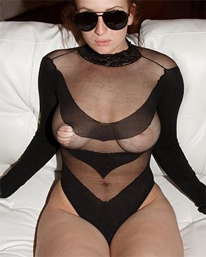 Emmy Sinclair See Thru Bodysuit Zishy