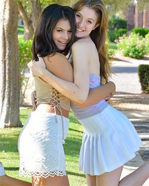 Eva and Violet FTV Girls Having Fun