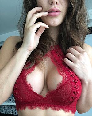 Eva Lovia Seeing Red