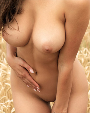 Faith Photodromm Nude Wheat Field