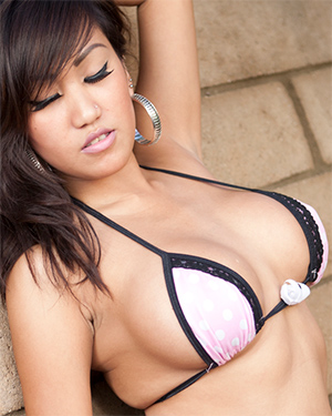 Hot Filipina Busty String Bikini Nitin