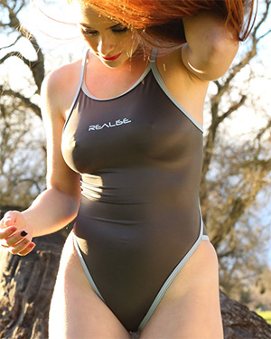 Ginger Sexy Redhead Swimsuit Heaven