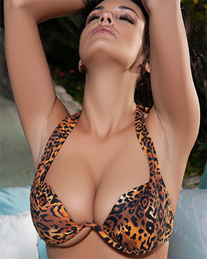 Hailey Lynzz Leopard Print Playmate