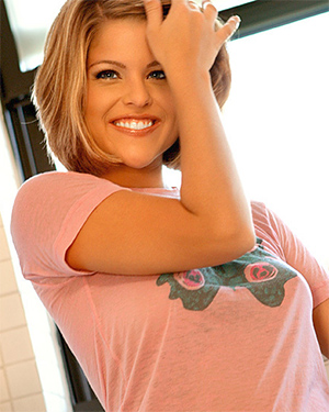 Jennifer Hurt Cute Smile Playmate