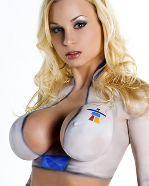 Jenny Poussin Sexy Babe