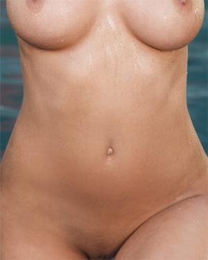 Jessica Workman White Lingerie Playboy