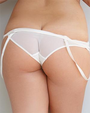 Jordan Monroe White Panties Booty
