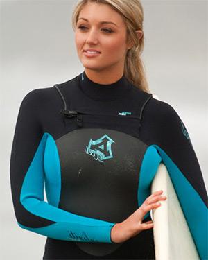 Katie Vernola Surfing Playmate