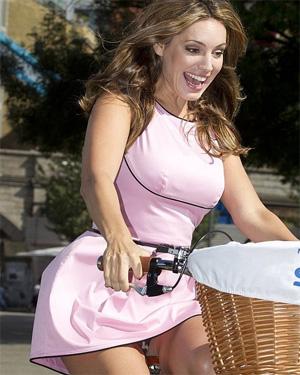 Kelly Brook Bike Ride
