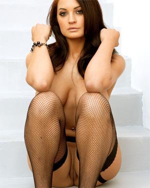 Kendall Rayanne Black Lingerie Beauty