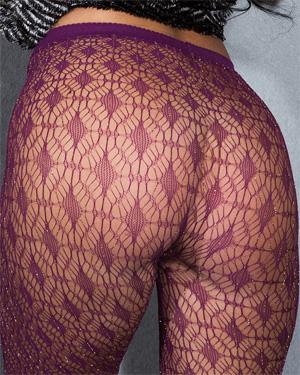 Kendra Cantara See Thru Stockings