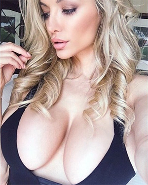 Kimberly Fattorini Busty Model