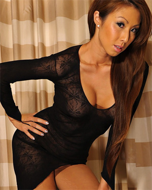Kt So Sheer Black Dress