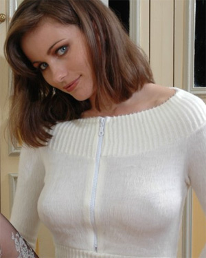Kyla Cole has perfect sweater tits