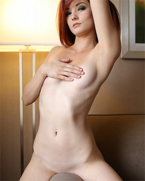 Kylie Cole Bare Naked Couch