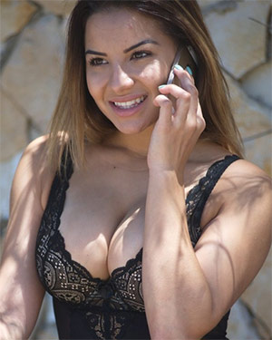Lacey Banghard A Quick Call