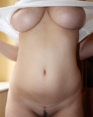 Lady B Super Busty Amateur