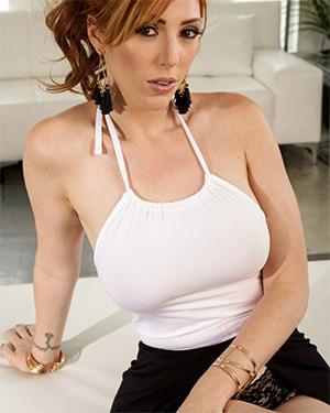 Lauren Phillips Racy Redhead