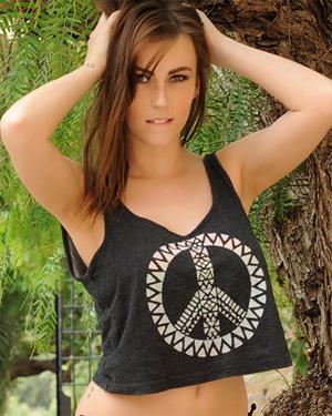 Lauren Wood Black Bikini