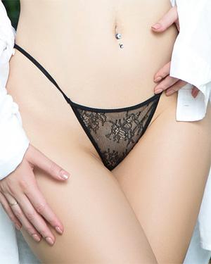 Lauren OConner Lace Thong Playboy