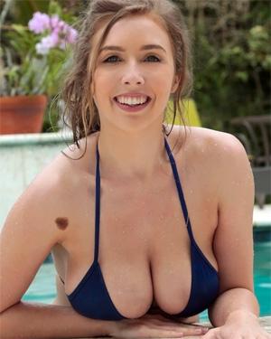 Lena Paul Big Bikini Boobs