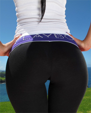 Lexi Yoga Pants In The Crack