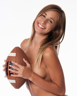Lizzie Marie Football Star