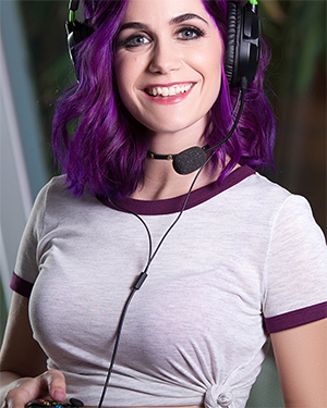 Lo Sexy Gamer Girl for Playboy