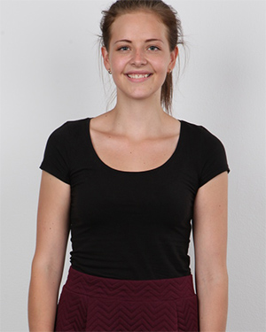Magdalena Cute Brunette Czech Casting