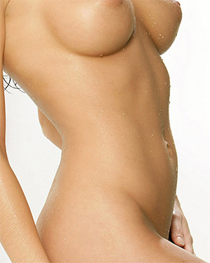 Melany Denyse Whoops No Bikini