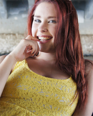 Melody Cute Redhead Real Girl