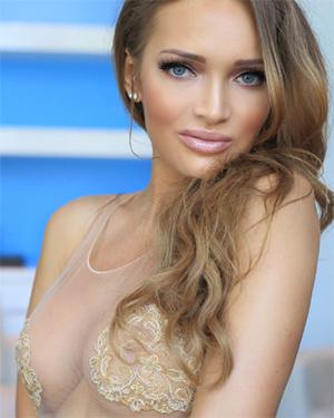 Nadia Omen Sexy Model
