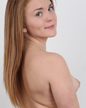 Natalie Cute and Perky Czech Casting