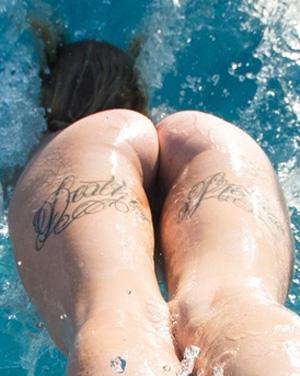 Natasha Legeyda Pool Fun Suicidegirls