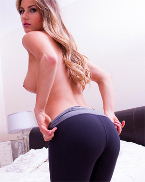 Natasha Anastasia Yoga Pants Skin Tight