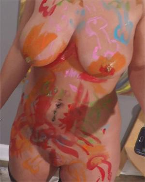 Nikki Sims Naked Work Of Art